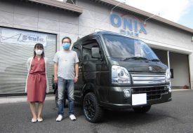 ◆本日の納車◆ スーパーキャリイ X 4WD AxStyleコンプリート