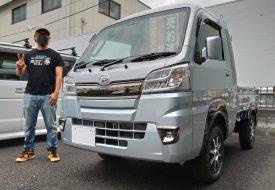 ◆本日の納車◆ ハイゼットトラックジャンボ 4WD 4AT AxStyleカスタムコンプリート