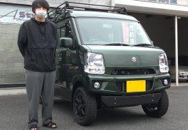 ◆本日の納車◆ エブリイJOINターボ 4WD 5MT AxStyleフルコンプリート