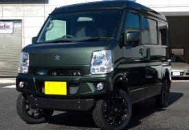 ◆遠方納車◆エブリイJOINターボ 4WD 5MT AxStyleハーフコンプリート