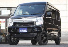 【169.9万円】AxStyleエブリイJOINターボ 4AT 2WD 走行11,000km 車検令和4年11月 下取車