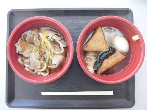 青梅産トウキョウXを使った肉うどんのキッチンカーがオニキス羽村中央店に来ております!